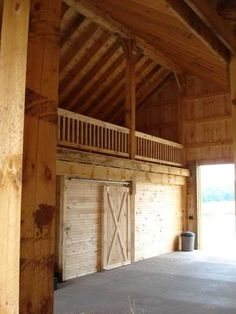 Barn with loft. Great for hay, or entertaining! :)