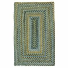 Colonial Mills RV50 Ridgevale Whipple Blue Rug Rug Size: Runner 2' x 6' by Colonial Mills. $135.00. RV50R024X072R Rug Size: Runner 2' x 6' Features: -Technique: Braided.-Origin: USA.-100pct Reversible.-Durable. Construction: -Construction: Handmade. Specifications: -Material: 100pct Wool. Dimensions: -Pile height: 0.5''.-Overall Dimensions: 36-180'' Height x 24-144'' Width. Collection: -Collection: Ridgevale.