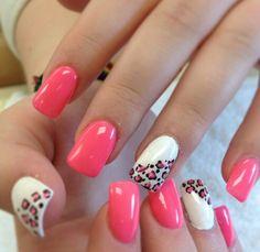 Hot pink and cheetah print!