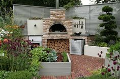 A Chef's Kitchen, Hampton Court Palace Flower Show Hampton Court Flower Show, Interior Stylist, Home Reno, Summer Vibes, Palace, Outdoor Structures, Garden, Flowers, Kitchen