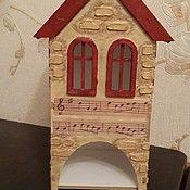 """Для дома и интерьера ручной работы. Ярмарка Мастеров - ручная работа Чайный домик """"Звуки музыки"""". Handmade."""