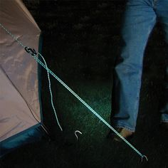 Reflective Rope - there are enough hazards to navigate without worrying about losing sight of what you've got tied down.