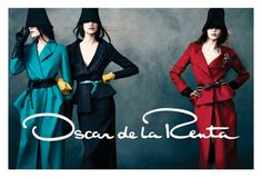 Oscar de la Renta Gets Glam for [] Fall 2013 Campaign [] by #NormanJeanRoy