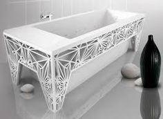 "Résultat de recherche d'images pour ""origami design interior"" Origami, Latest Design Trends, Amazing Bathrooms, Innovation, Sink, Interior Design, Bathtub Dream, Bathtubs, Home Decor"