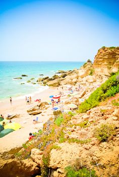 """One of the many sandy """"calas"""" around #Conil. Definitely worth a visit when staying at #LaDorada!"""