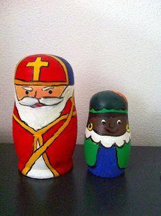 Zwarte Piet matroesjka (+ uitgebreide werkbeschrijving)