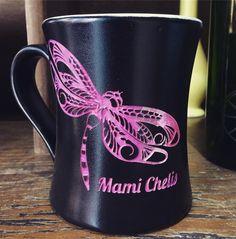 #amantesdelcafe #personalizado #metepec #dovanaml Comenzando el martes con una bella libélula!