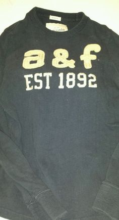 Boys Abercrombie & Fitch Muscle Fit Top Size XL #42 #AbercrombieFitch
