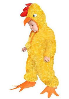 This Toddler Chicken Costume is an adorable little chick costume for your child.