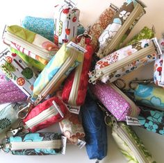 LOVE her lip balm holders they are of the best quality zipper closure with hooks..very nice! and very affordable