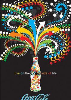 Coke Side of Life: Coca-Cola Art Remix | Flickr - Photo Sharing!