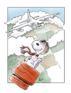 Airforce Snoopy by ~gryen on deviantART