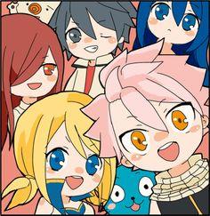 Fairy Tail >u< Natsu is adorable!