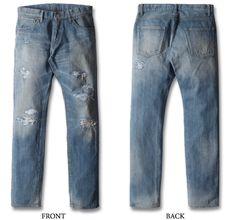 今日買った新しいジーンズ