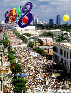 Calle 8 Miami Caribbean Carnival 1980s Festivals Cities Islands