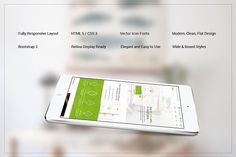 Omen Bootstrap Responsive Theme by IceTemplates on @creativemarket