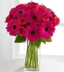 Gerbera Daisies & Rose bouquet