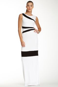 A.B.S. Stripe Detail Gown by A.B.S. on @nordstrom_rack
