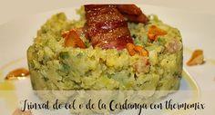 Trinxat de col o de la Cerdanya con thermomix - 1 platos thermomix - Thermomix Quiche, Bacon, Breakfast, Food, Potatoes, Per Diem, Meal, Eten, Quiches