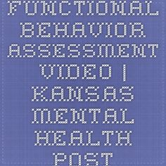 Functional Behavior Assessment Fba Instructions  Joe Zima