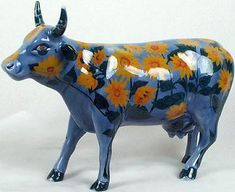 Cow ParadeMoo-Nay's Garden - Cow Parade Figurines