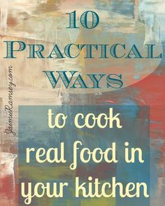 cook real food