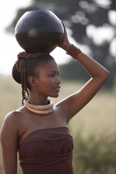 Beautiful Zulu woman, South Africa