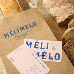 The branding for Mélimélo Bakery, designed by Daniela Arcila, features Mexican-inspired geometric pattern prints and bold colours, pared down with complementary pastel pink and gold accents for a modern and contemporary touch. Logo Design, Web Design, Graphic Design Branding, Identity Design, Print Design, Mexican Graphic Design, Brand Identity, Print Packaging, Packaging Design