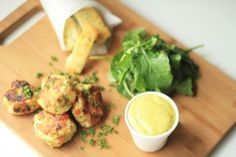 Amazing Fish cakes with aioli that you can make super easy