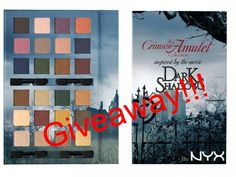 NYX Dark Eye Shadow Crimson Amulet Palette Look at these colors! I specially love the middle one with green shadows! Nyx, Makeup Kit, Beauty Makeup, Dark Shadows Movie, Make Your Own Costume, Shadow Photos, Bright Makeup, First Day Of Summer, Dark Eyes