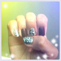 Leopard print deco sticker Sticker, Deco, Nails, Beauty, Finger Nails, Ongles, Stickers, Decor, Deko