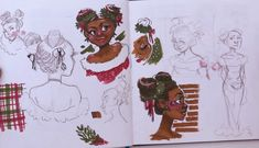 Art Inspiration Drawing, Sketchbook Inspiration, Character Design Inspiration, Art Sketchbook, Art Inspo, Cute Fall Wallpaper, Cartoon Art Styles, Mermaid Art, Drawing People