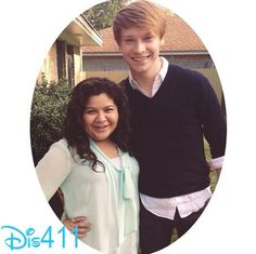 """With Raini Rodriguez. And if """"Trez"""" ever becomes a thing, I shall write the Austin and Ally screenwriters a very strongly worded letter of complaint, with bullet points, listing all the cons. YOU HAVE BEEN WARNED! STRONGLY WORDED! Raini Rodriguez, Calum Worthy, Disney Channel Stars, Amazing Songs, Laura Marano, Austin And Ally, Disney Shows, Celebrity Dads, Celebs"""