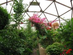 Geodesic greenhouse kits from Growing Spaces®, LLC create a new paradigm in solar greenhouse design and efficiency.