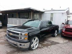 Dropped New Chevy Silverado, 2014 Chevrolet Silverado 1500, Sweet Cars, Chevy Trucks, Cars Motorcycles, Hot Rods, Badass, Wheels, Vehicles