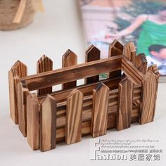 Fences fencecoking anticorrosive wood flower barrels flowerpot  wooden Box hotel home decoration