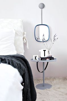 Design Letters in my Bedroom (via Bloglovin.com )