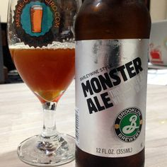 Brooklyn Monster Ale #cerveja #beer