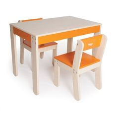 P'kolino Little One's Kids 3 Piece Table & Chair Set & Reviews | Wayfair