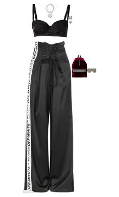 """""""Untitled #3676"""" by stylebyfashionmerger ❤ liked on Polyvore featuring Dolce&Gabbana, Pasquale Bruni, Roger Vivier, Yves Saint Laurent and Gucci"""