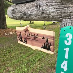 Rustic Sign Bear Sign Live Edge Sign Welcome Sign Lodge Carved Wood Signs, Diy Wood Signs, Rustic Signs, Cabin Signs, Farm Signs, Driveway Sign, Outdoor Signs, Outdoor Decor, Deer Signs