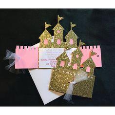 Invitación de Castillo de princesa princesa por FalcoClan en Etsy