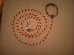 paracord leash and collar