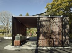 Australian Institute of Architects Announces 2014 NSW Awards,Foley Park Amenities / Stanic Harding. Image © Richard Glover