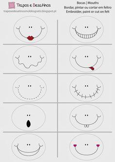 Moldes Grátis   Free Sewing Patterns: Caras