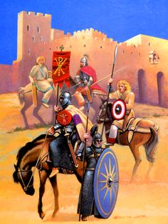Byzantine general Narses' troops before Rome Ancient Rome, Ancient History, Byzantine Army, Medieval, Early Middle Ages, Roman History, Dark Ages, Roman Empire, Military History