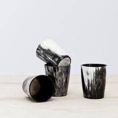 Ankole Tumbler Set (why can't dishes as cool as these be part of décor?)