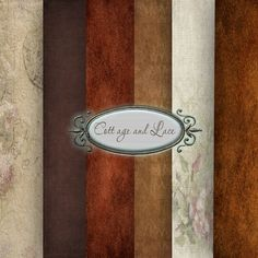 Autumn Digital Texture, Fall Colors, Brown, Rust and Cream Texture, Paper Pack, Digital Fall, Autumn Digital Papers, Autumn Printable Papers