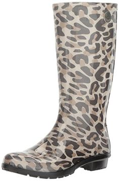 UGG Womens Shaye Leopard Rain Boot * More info could be found at the image url. (This is an Amazon affiliate link)