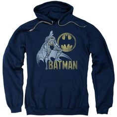 Batman - Knight Watch Adult Pull Over Hoodie